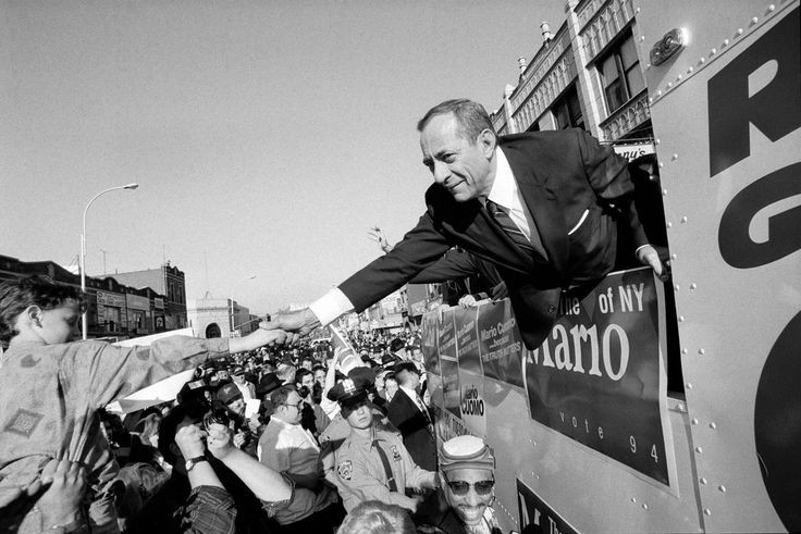 New York Times: Jan. 2, 2015 - Mario Cuomo, three-term New York governor and eloquent liberal beacon, dies at 82
