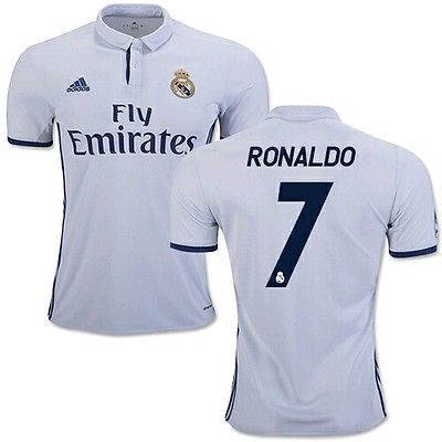 Kids official real madrid home #16/17 shirt, #shorts & socks #ronaldo #7 age 8-9,  View more on the LINK: 	http://www.zeppy.io/product/gb/2/252485788048/