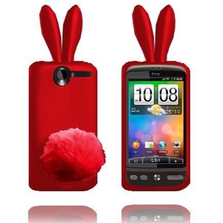 Bunny (Rød) HTC Desire G7 Deksel