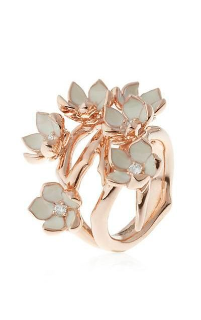 Cherry Blossom Ring (the ring I imagined, inspired by the armor!)