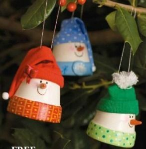 Clay Pot Crafts... Lots of really cute ideas on this one! Not just Christmas