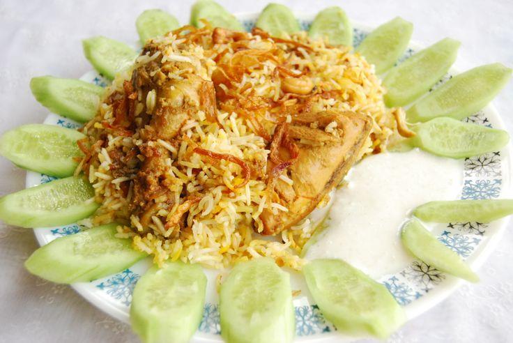 How to Make a Chicken Biryani