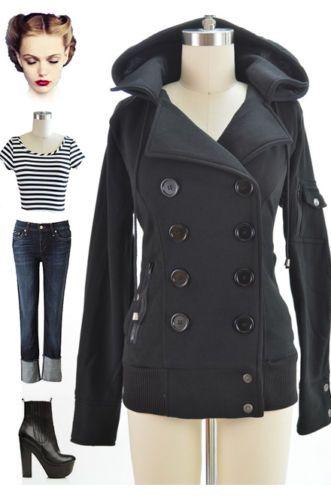 10 best Winter jackets images on Pinterest   Pea coat, Plus size ...