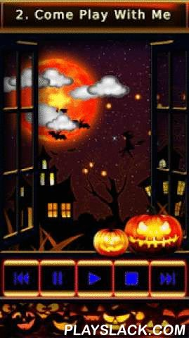 Spooky Halloween Songs  Android App - playslack.com ,  Do you like scary Halloween songs and creepy pumpkins? Just start spooky music radio box. In this ultimate sound effect app you can choose one of ten creepiest sound tunes, start timer and you will enjoy the Halloween night.When the music starts playing spooky lights falling from the sky and clouds animated game.Free Halloween Songs HD Pro is an entertaining music song app designed to give a gentle show to the traditional creatures…