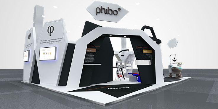 Proyecto stand Phibo para feria dental en Alemania_003 | Diseño de Stands para Ferias | Eventos de Empresa