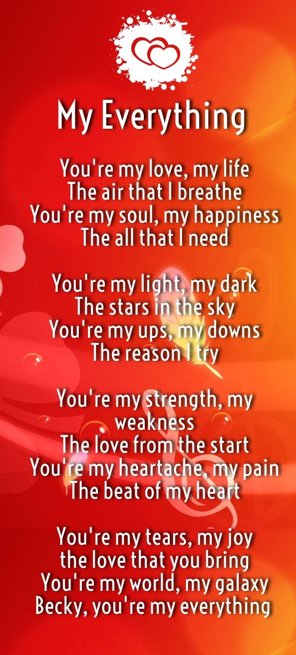 How Much I Love You Poems for Her and Him | Romantic Poems ...