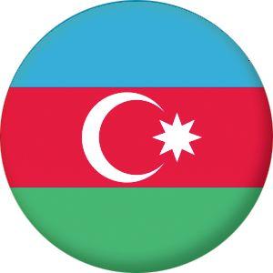 Azerbaijan Country Flag