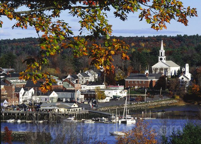 Where I want to live...Damariscotta, Maine.