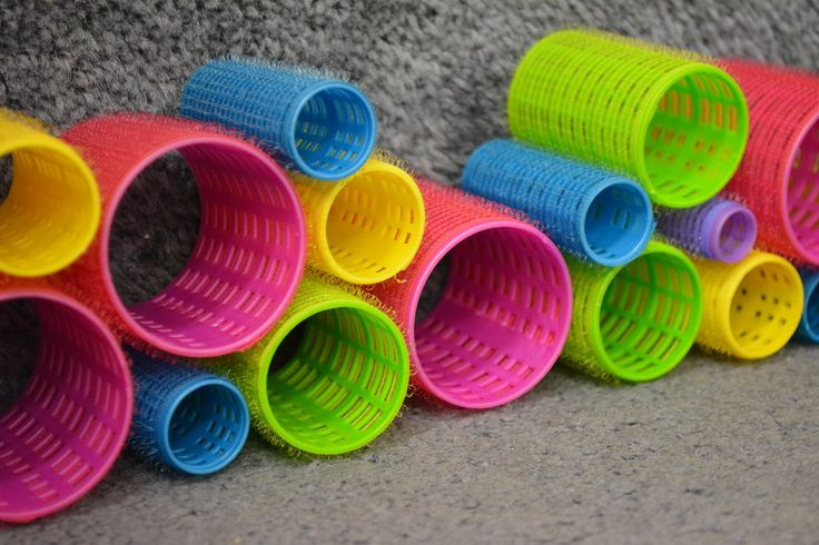 13 ways Velcro hair  rollers can be used with a variety of other materials to engage and inspire  children's play.  1) HAIR ROLLERS & FLANNEL BOARDS-  Velcro hair rol...