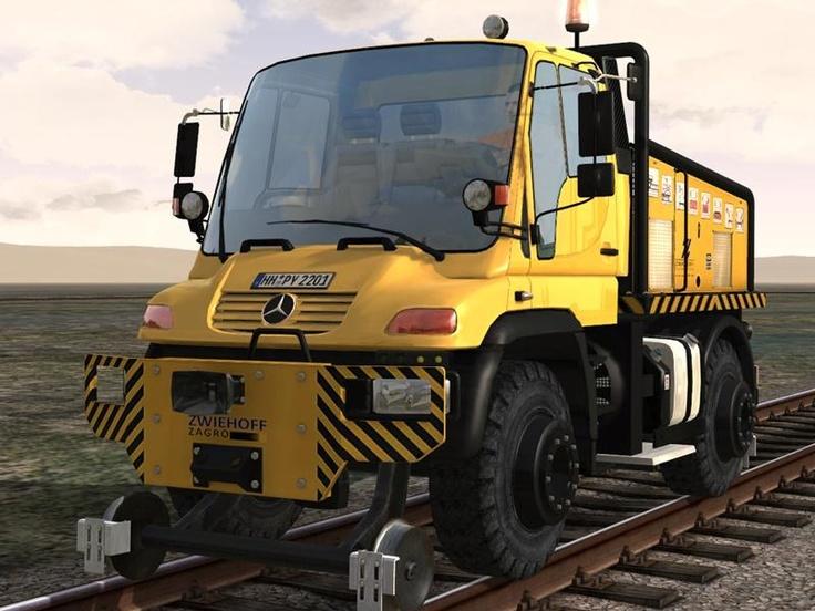 Zweiwege-Fahrzeug Unimog (Basisfahrzeug Typ U 400)