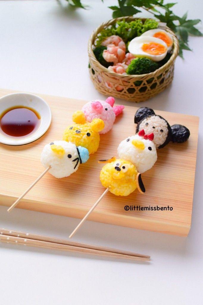 Disney onigiri. I should make these with my boyfriend, they're so cute.