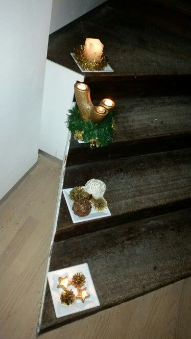 "Our ""Christmas stairs"""