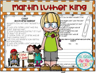 Martin Luther King...Crafts and Activities!
