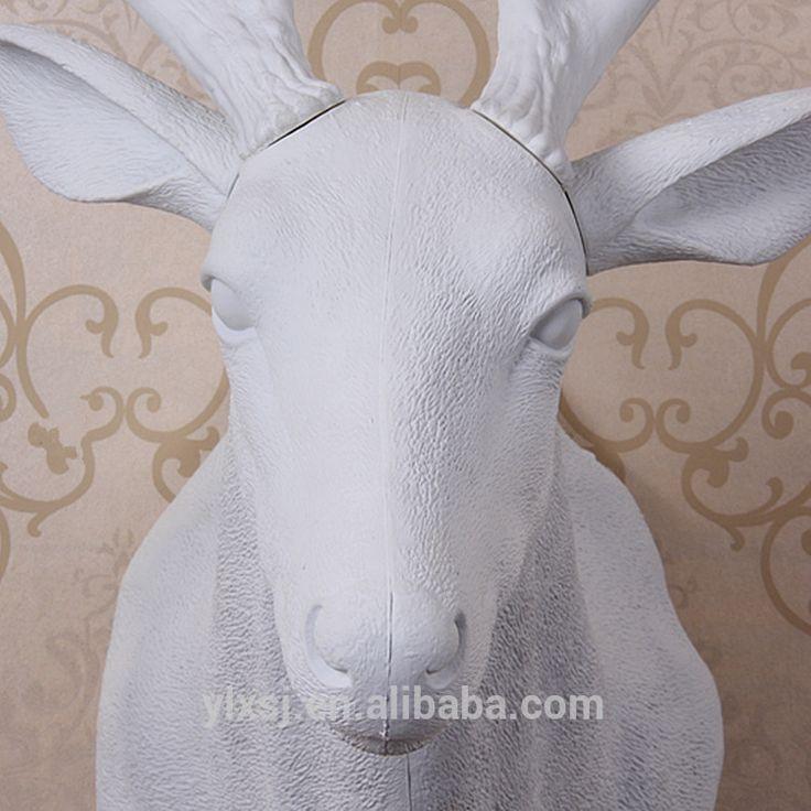 Venado cola blanca de la cabeza para el hogar& oficina ornamento