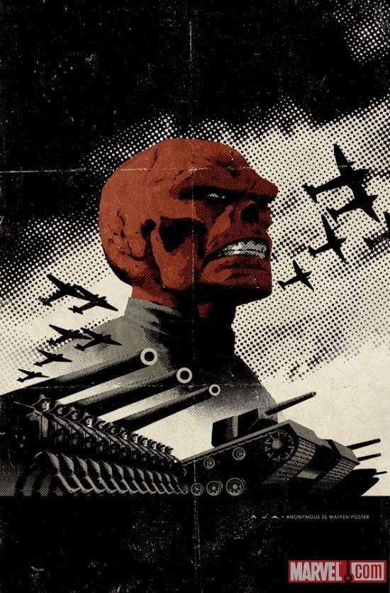 Red Skull - David Aja