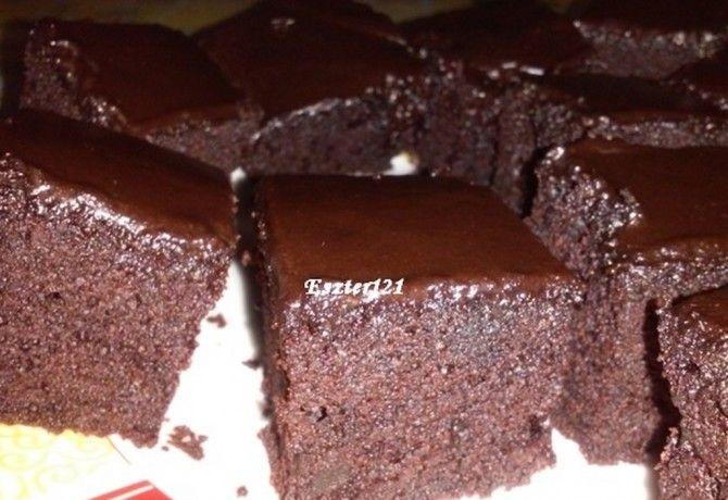 Brownie natúr joghurttal