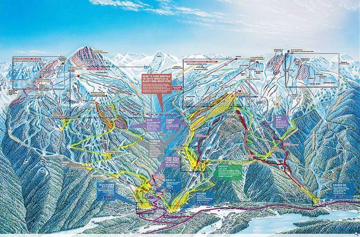 Whistler Ski Resort Guide, Location Map & Whistler ski holiday accommodation