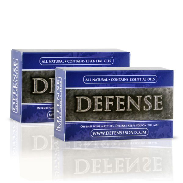 Product Image: Defense Soap Bar - 2 Pack - Antifungal Soap - All Natural - Triple Milled