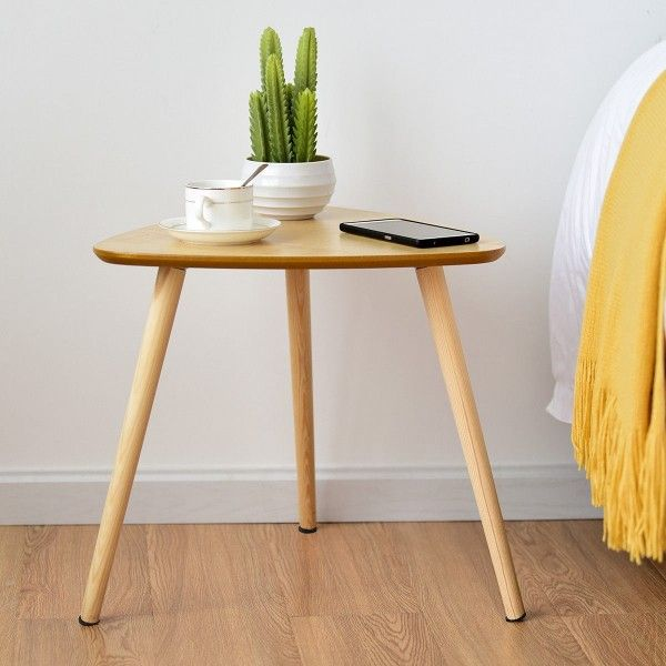 Living Room Triangle Top Side End Accent Coffee Table Coffee Tables Accent Tables T Wood Furniture Living Room Plywood Coffee Table Modern Wood Furniture #triangle #end #tables #for #living #room