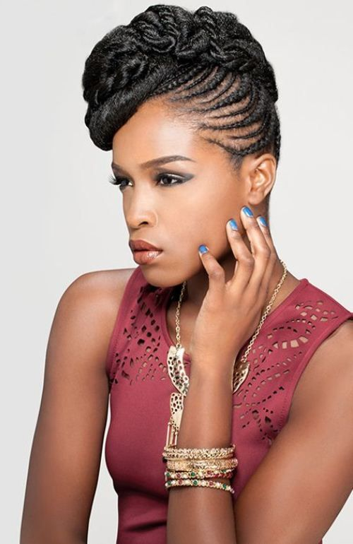 Amazing 1000 Ideas About African American Hairstyles On Pinterest Hairstyles For Women Draintrainus