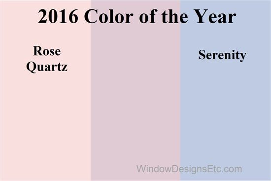 Rose Quartz And Serenity Combined Pantone 2016 Color Of