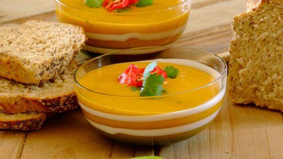 Spicy Thai Butternut Soup