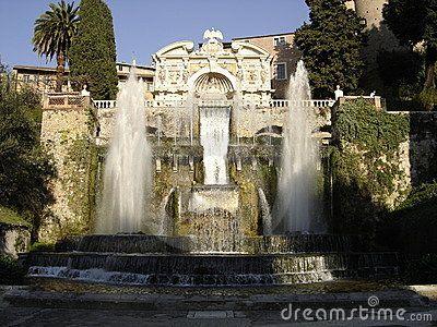 Tivoli roman fountains by Derom588, via Dreamstime