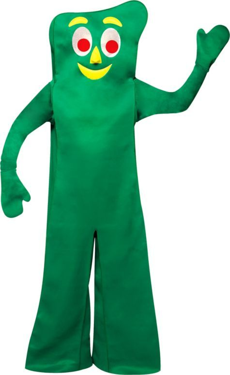 Gumby Costume for Adults - Party City