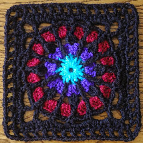 78 Best images about Crochet-Stained Glass Afghans on ...