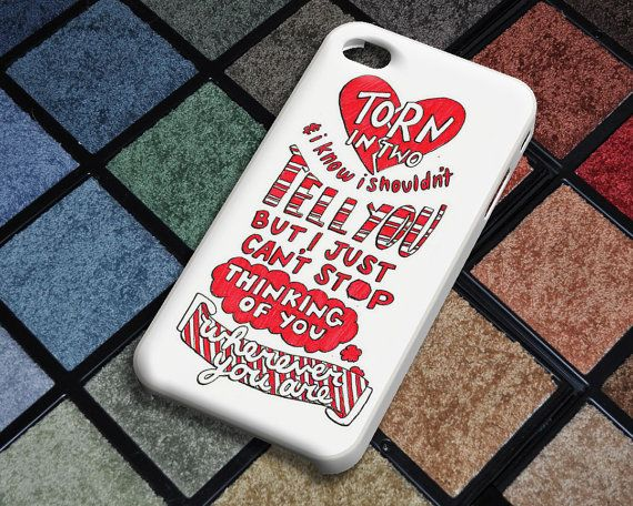 Five Seconds of Summer Lyric Case for iPhone 4/4S by CrazyLionKing