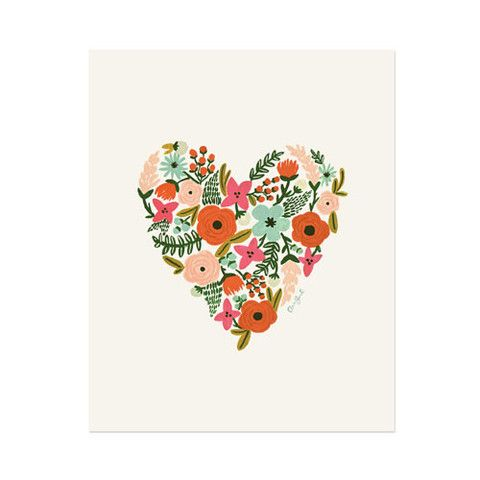 Floral Heart single card – Paper Luxe #love #valentinesday