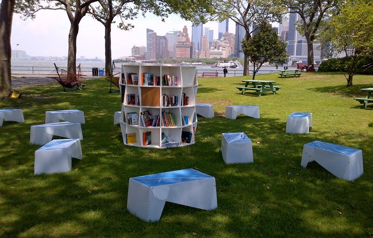 Public library in NYC