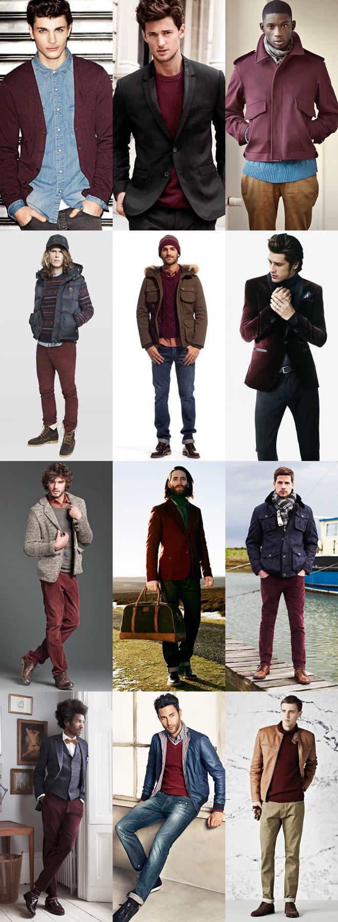 Burgundy AW12 Men's Lookbook