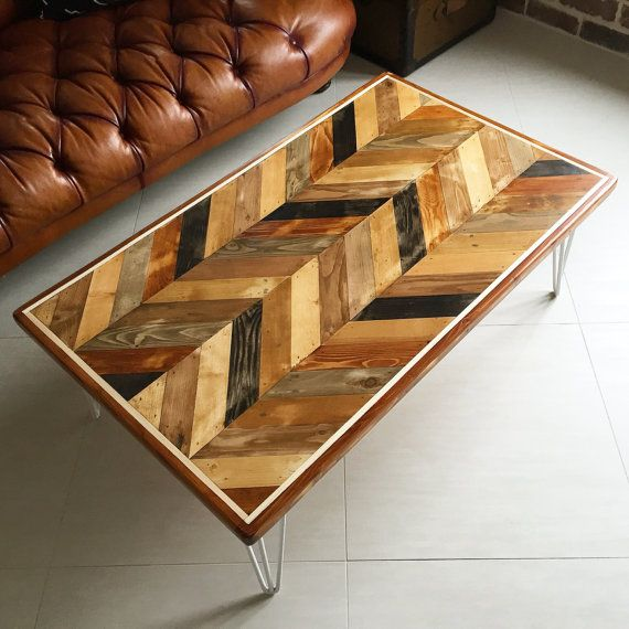 17 Best Ideas About Chevron Coffee Tables On Pinterest