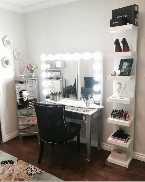 728 Best Vanity Images On Pinterest Makeup Organization