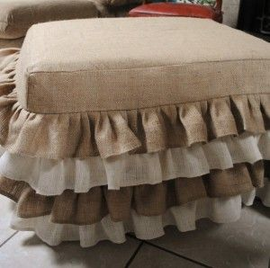 Google Image Result for http://goodideasandtips.com/wp-content/uploads/2012/01/Burlap-Ottoman-Cover-300x298.jpg