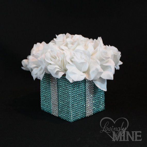 Best ideas about tiffany blue centerpieces on