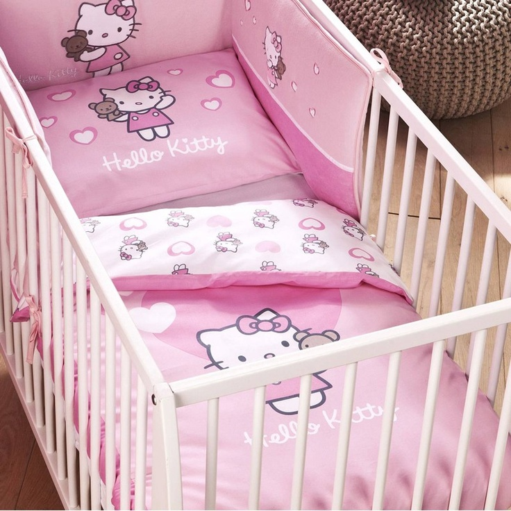 16 best chambre enfant hello kitty images on pinterest | nursery