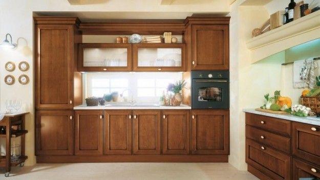 Idee per arredare una cucina classica - Cucina con nicchia