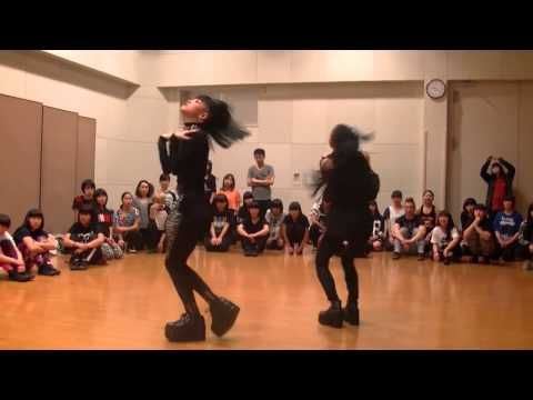 Wow! These Two Japanese Girls Bring Voguing To Next Level - YouTube