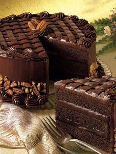 """Торт """"Чёрная магия"""""""