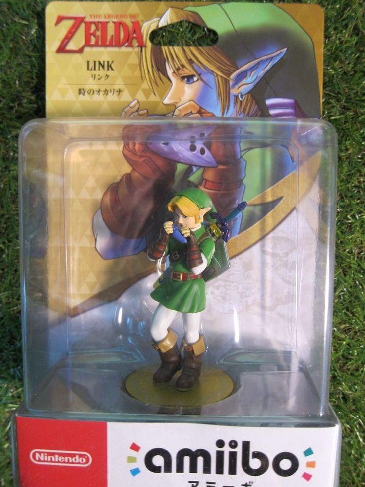 Ocarina of time Link Amiibo Legend of Zelda Nintendo from