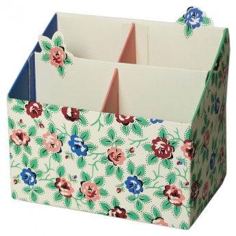 Rambling Rose Pencil Box