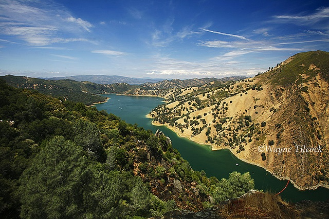Lake Berryessa by Wayne Tilcock, via Flickr