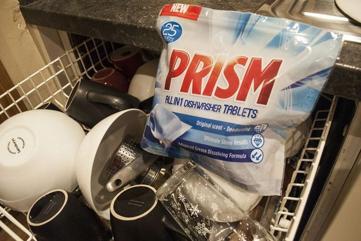Prism Dishwasher tablet review with Sainsbury's