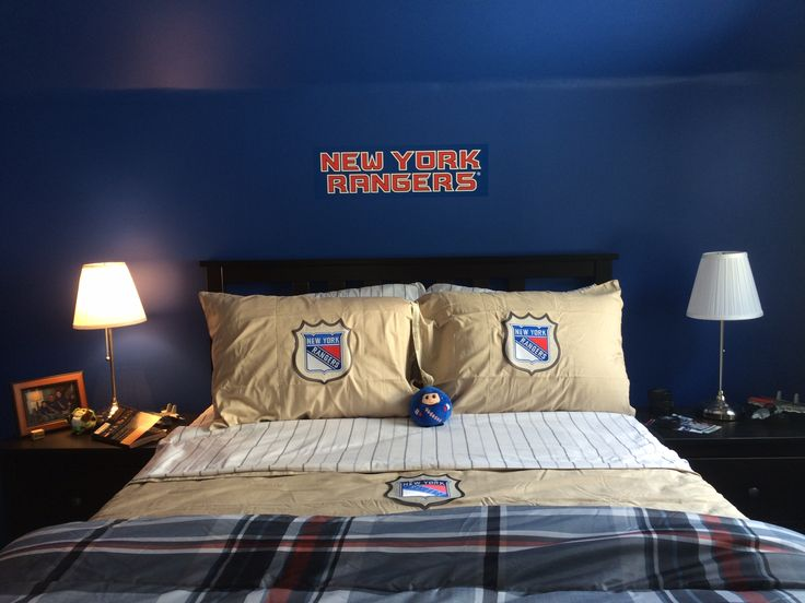 86 best NHL bedrooms NY Rangers images on Pinterest | New york ...
