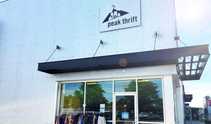 Located in Northwest Denver, Peak Thrift is one of the city's newest and most fabulous second hand stores that not only features a bunch of great deals, but a great mission as well.
