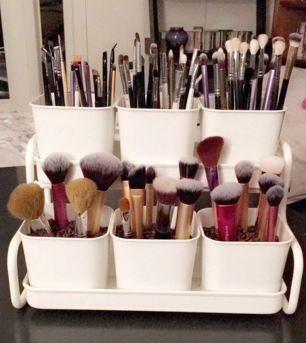 23+ All about Makeup Organization DIY Dollar Stores Small Spaces – Home Design R …