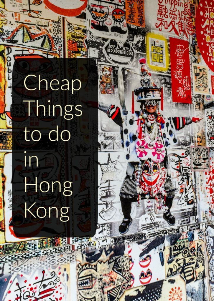 Cheap Things to do in Hong Kong on a budget. Awesome travel tips for Hong Kong destinations!