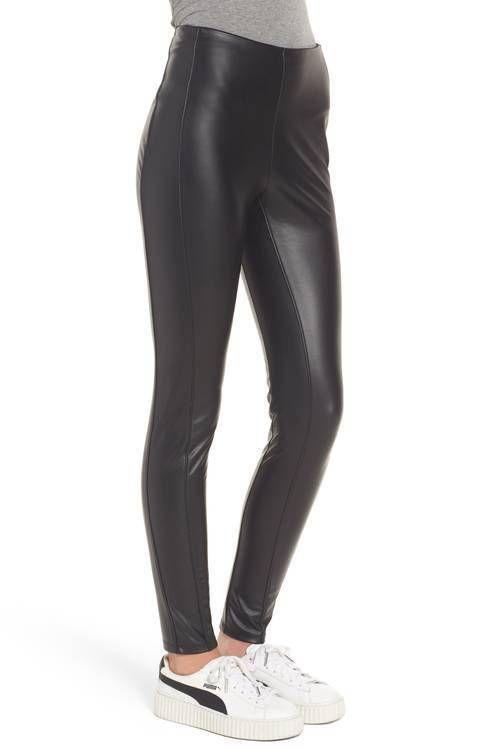 f1f4b2fef0cc08 NWOT LYSSE Bryce Vegan Faux leather legging Size L #fashion #clothing  #shoes #accessories #womensclothing #leggings (ebay link)